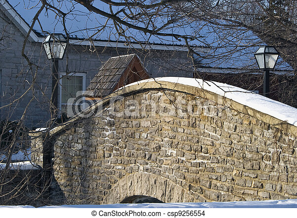 Small stone bridge  - csp9256554