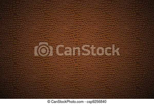 Leather background. Vector illustration. - csp9256840