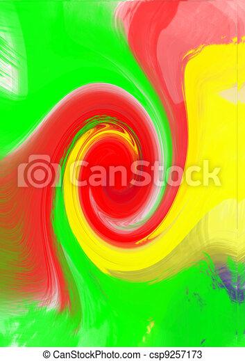 bright swirls - csp9257173