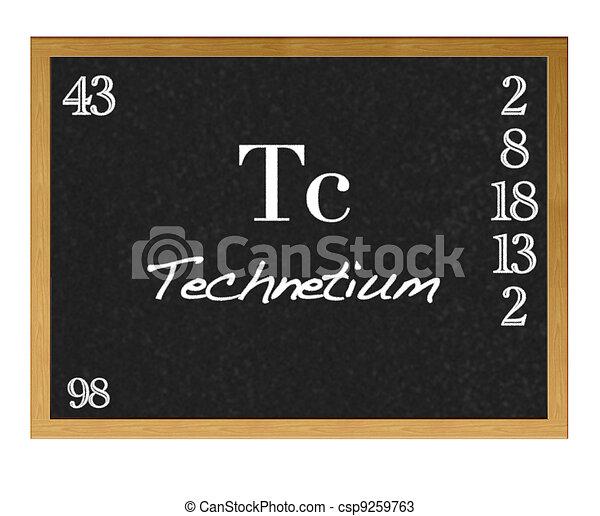 Technetium. - csp9259763