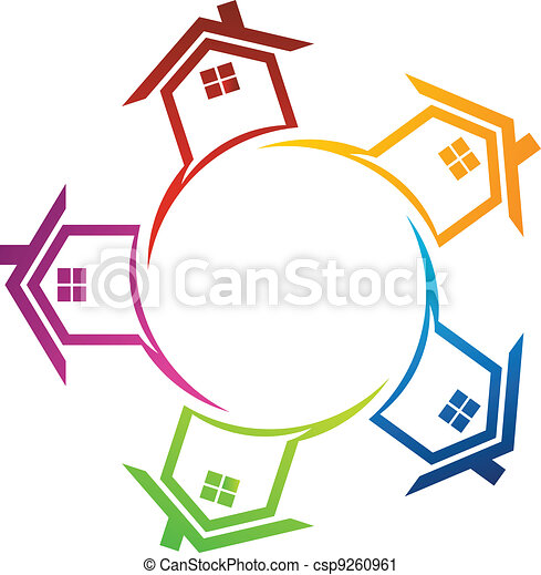 Group of houses - csp9260961