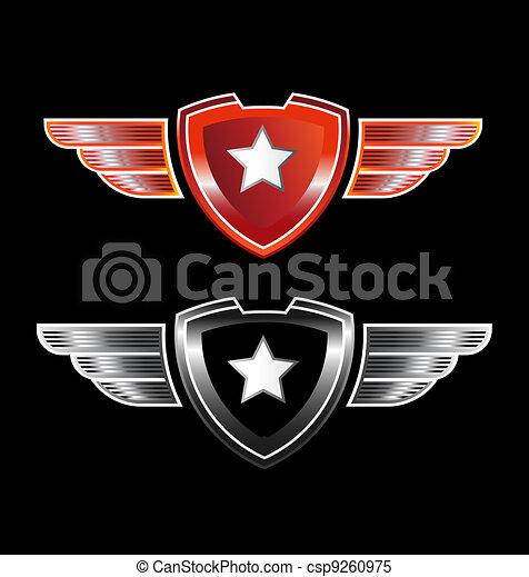 Star insignia - csp9260975