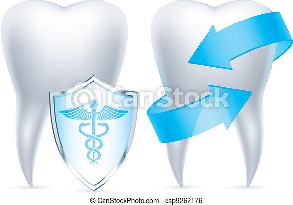 Teeth protection. - csp9262176
