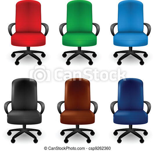 Office Armchairs - csp9262360