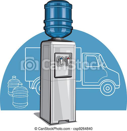 Electric water cooler - csp9264840