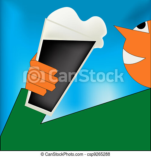 Cheers, Irish Stout Poster - csp9265288