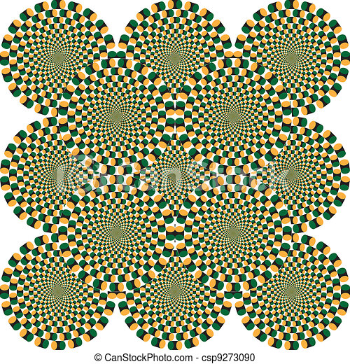 Optical Illusion Logos Optical Illusion Vector