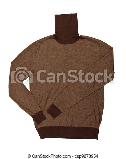 Men's solid color sweater - csp9273954