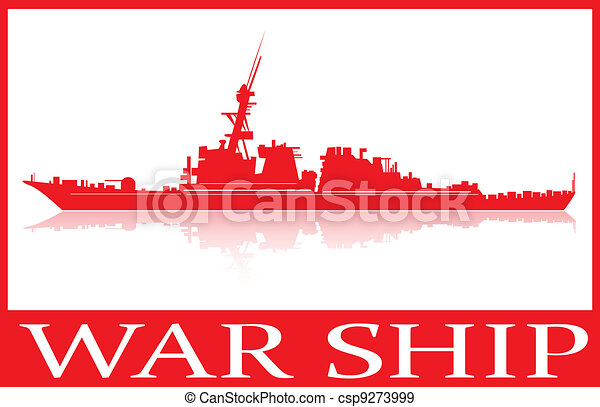 War ship. - csp9273999