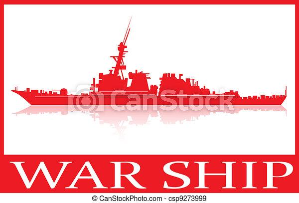 War ship. - csp9273999