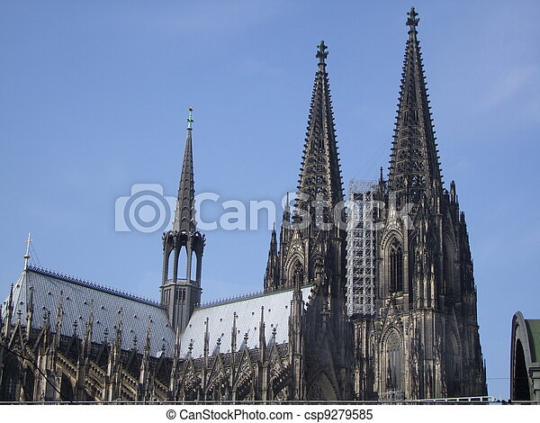 Cologne cathedral - csp9279585