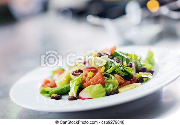 chef preparing meal - csp9279846