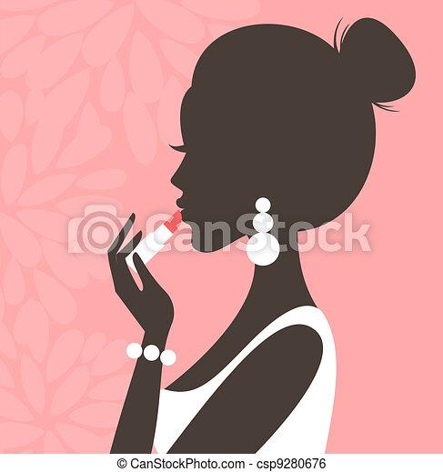 Lipstick (Pink Series) - csp9280676