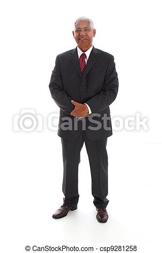 Minority Businessman - csp9281258