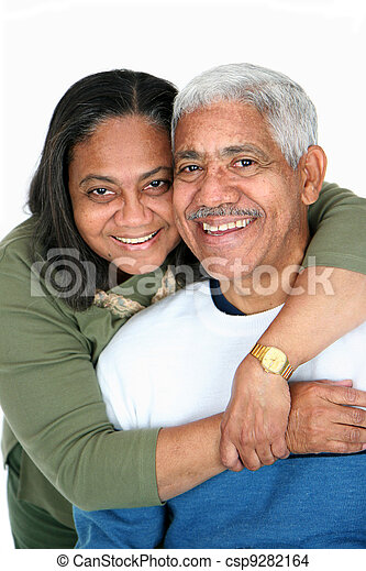 Minority Couple - csp9282164