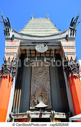 Grauman's Chinese Theate Entrance - csp9282648