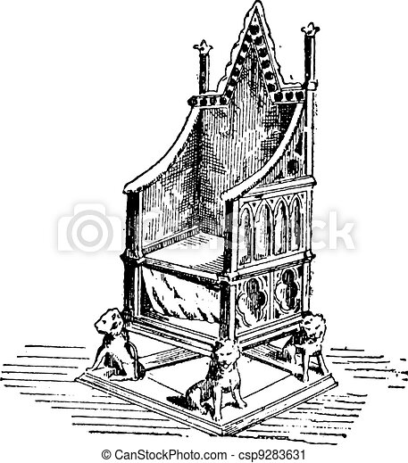 how to draw a throne