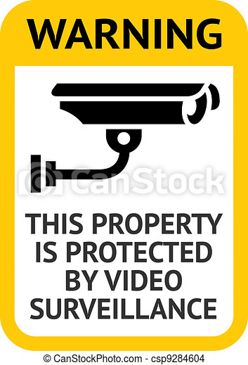 Notice Video Surveillance - csp9284604
