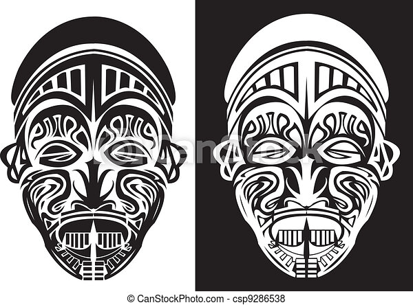 African Masks Drawings African Tribal Mask