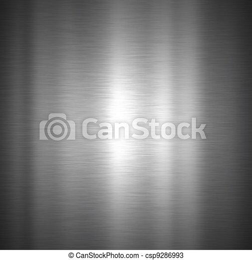 Brushed metal texture - csp9286993
