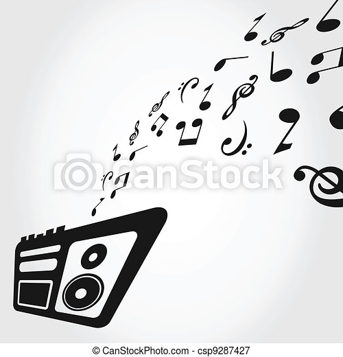 Recorder Instrument Clipart Tape Recorder Clipart