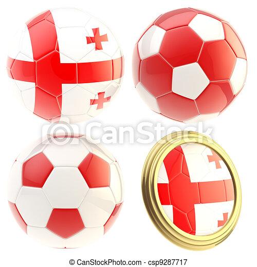 Georgia football team attributes isolated - csp9287717