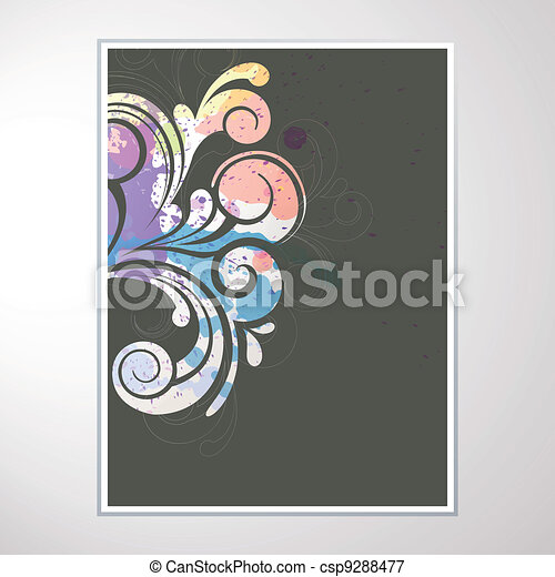 Abstract Vector Design - csp9288477