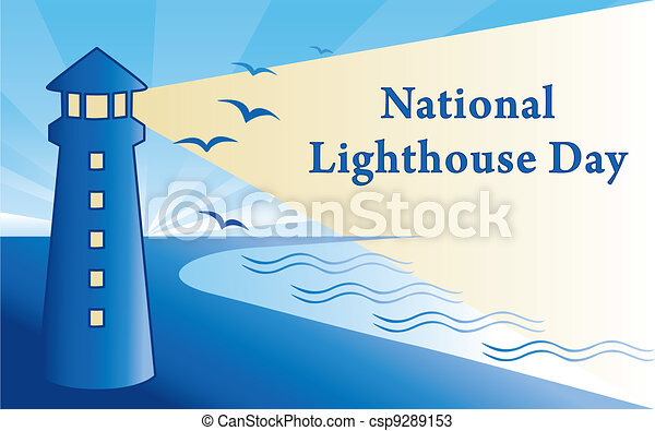 National Lighthouse Day - csp9289153