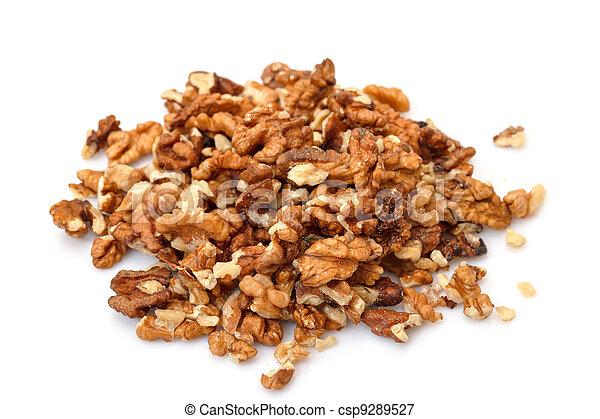 Heap Purified Walnuts - csp9289527