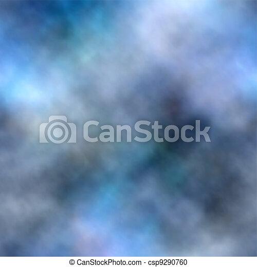Blue smoke background - csp9290760