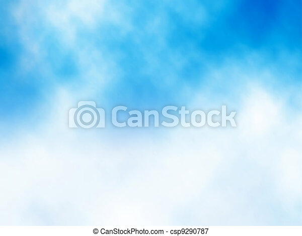 Cloud on blue - csp9290787