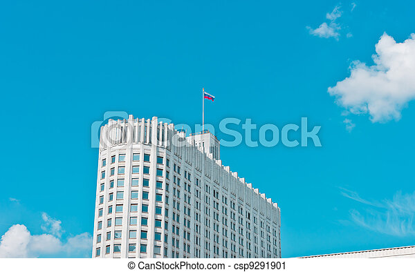 Russian House of Government in Moscow - csp9291901