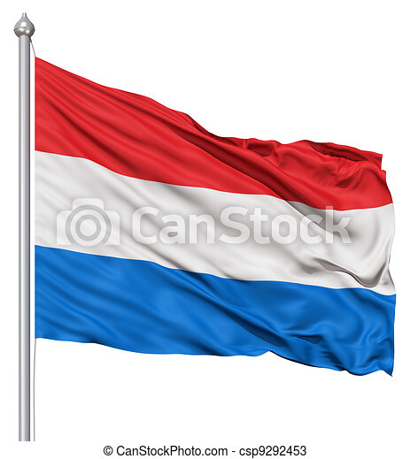 Waving Flag of Netherlands - csp9292453