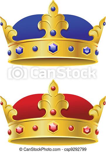 Royal crowns - csp9292799