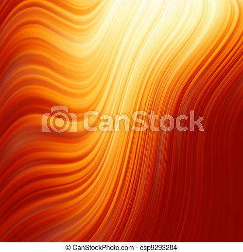 Abstract glow Twist with fire flow. EPS 8 - csp9293284