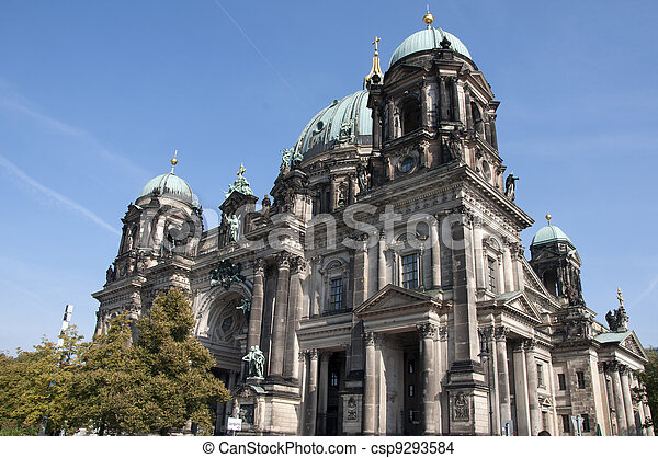Berlin Cathedral (Berliner Dom) - csp9293584