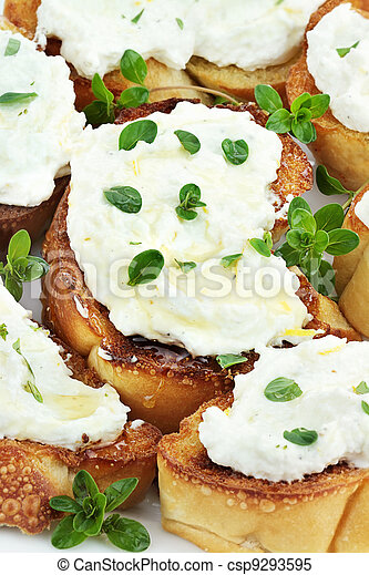 Images of Bruschetta with Ricotta Cheese - Bruschetta with ricotta ...