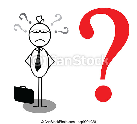 businessman problem - csp9294028