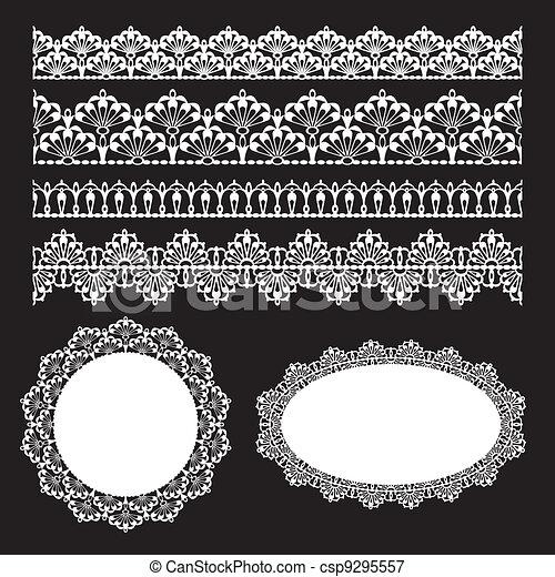 Seamless lace set - csp9295557