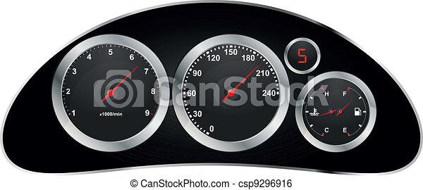 dashboard car - csp9296916