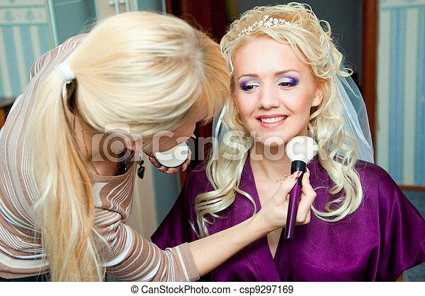 Morning of bride - csp9297169