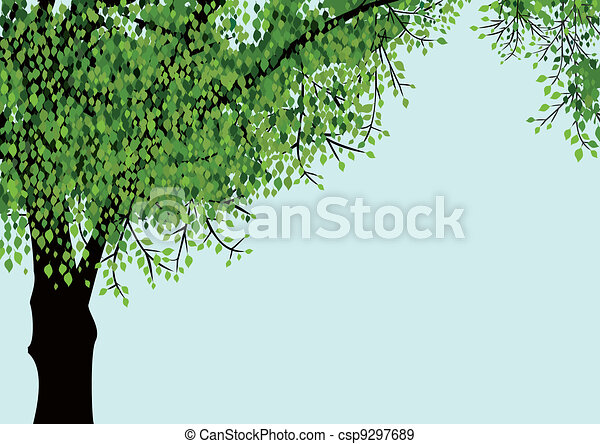 Lonely vector tree - csp9297689