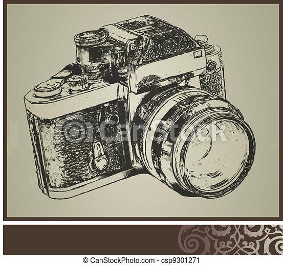 old camera - csp9301271