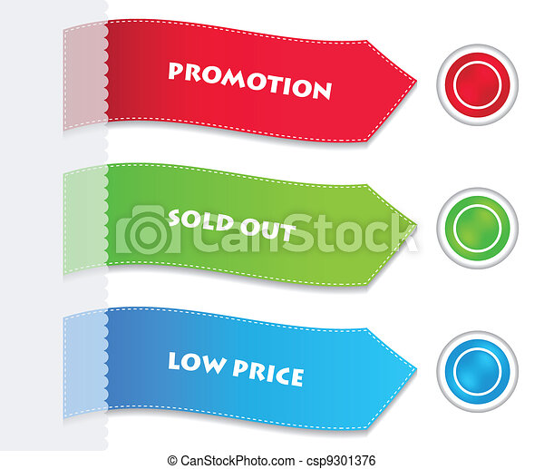 special paper tags and buttons - csp9301376