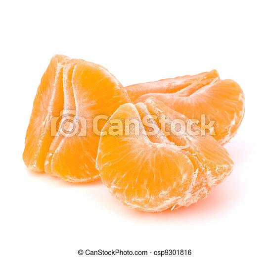 Orange mandarin or tangerine fruit - csp9301816