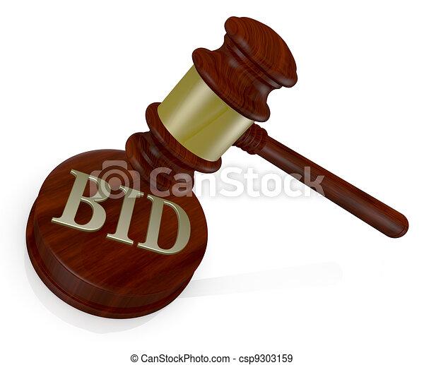 concept of auction - csp9303159