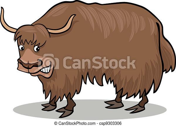 Yak bull - csp9303306