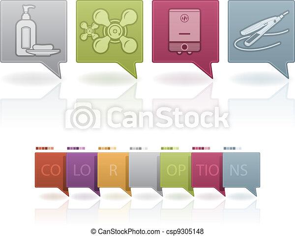 Bathroom Appliances - csp9305148