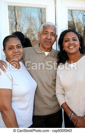 Minority Family - csp9305943