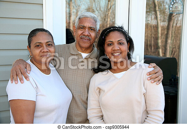 Minority Family - csp9305944